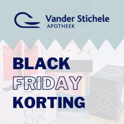 Black Friday Korting in Apotheek Vander Stichele